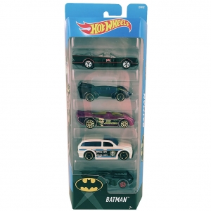 Autka Hot Wheels pięciopak Mattel DVF92 Batman