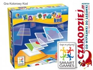Gra Kolorowy kod Smart Games