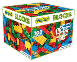 Klocki Blocks Create & Play 102 el. Wader 41292 12m+