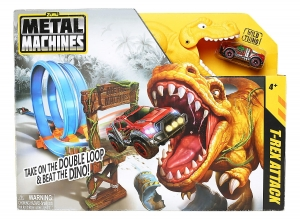 Tor wyścigowy T-Rex Attack Metal machines Zuru 6702 4+