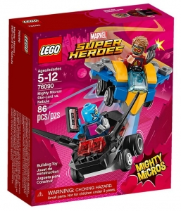 Klocki Lego Super Heroes Star-Lord vs. Nebula 76090 5+