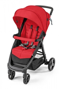 Wózek spacerowy Baby Design Clever 2019 02 RED