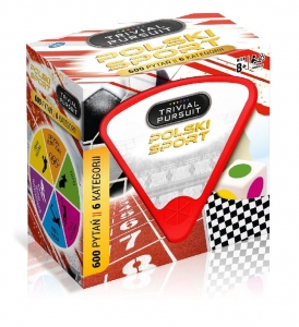Gra Quiz Trivial Pursuit Polski Sport 00251 Winning Moves 8+