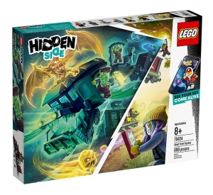Klocki Lego Hidden Side Ekspres widmo 70424 8+ REKLAMA TV!