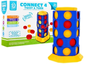 Gra logiczna CONNECT 4 – TWIST & TURN Line Up ZGR.5777-27 Ramiz