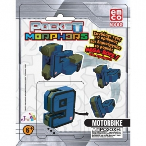 Pocket Morphers II Figurka 2w1 TM Toys 66889 6+ 9 Motor MIX