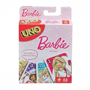 Karty Uno Barbie Mattel FMP71 7+