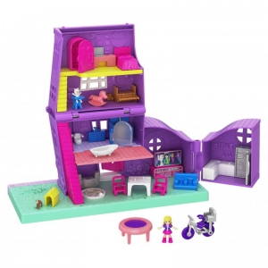 Polly Pocket Domek Polly Pollyville GFP42 Mattel 4+