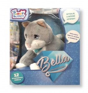 Puppy Luv Interaktywny kotek Bella TM Toys 08126 3+