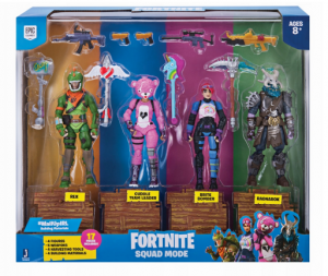 Figurki Fortnite 4-pak Squad Mode FNT0019 TM TOYS