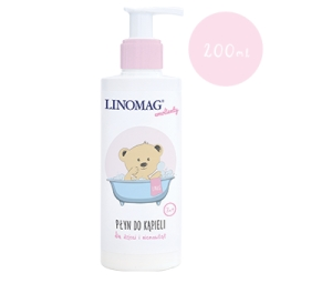Płyn do kąpieli 200ml Linomag