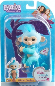 Fingerlings Małpka AMELIA GLITTER BROKAT MAŁPKA IN 5+