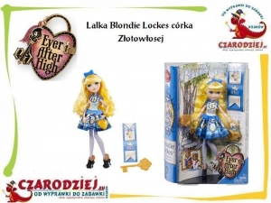 Lalka Ever After High Blondie Lockes córka Złotowłosej CBR85 Mattel