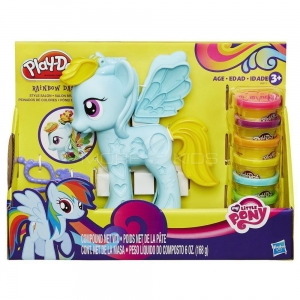 Salon fryzjerski Rainbow Dash My Little Pony Play-Doh B0011 Hasbro