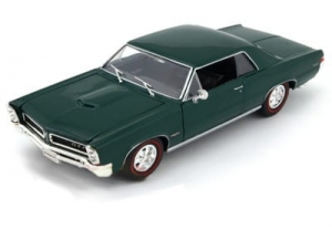 Model auta w skali 1:24 Dromader Welly 1965 Pontiac GTO