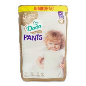 Dada Extra Care pieluchomajtki PANTS JUMBOBAG 5 JUNIOR 60szt