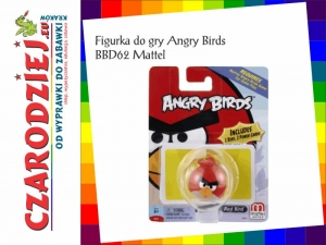 Figurka do gry Angry Birds BBD62 Mattel