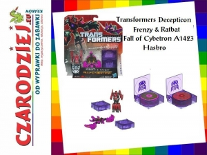 Transformers Decepticon Frenzy & Ratbat Fall of Cybertron A1421 A1423 Hasbro