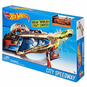 Hot Wheels City Speedway DTN00 Mattel 2017