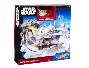 Hot Wheels Hoth Echo Base Battle Star Wars CGN34