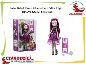 Lalka Rebel Raven Queen Ever After High BFW94 Mattel