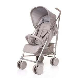 4 BABY Wózek spacerowy LECAPRICE XVI LIGHT GREY