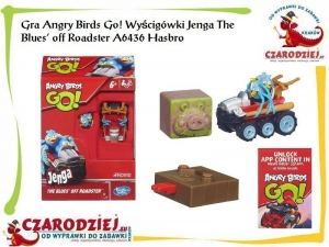 Gra Angry Birds Go! Roadster Jenga The Blues' off Roadster A6436 Rovio Hasbro Gaming