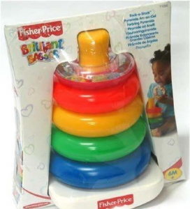 Fisher Price Piramidka Z Kółek 71050