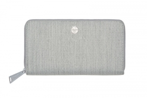 Lassig - Green Label Portfel z etui na karty Mix `n Match Light grey