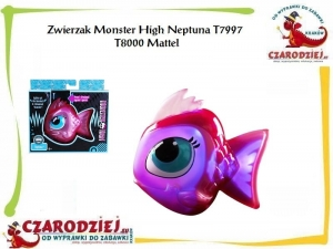 Zwierzak Monster High Neptuna T7997 T8000 Mattel