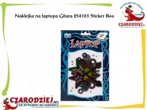 Naklejka na laptopa Gitara 254163 Sticker Boo