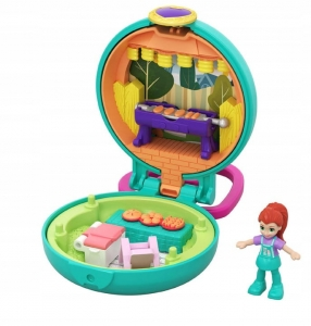 POLLY POCKET TINY COMPACT MINI GRILL GKJ43