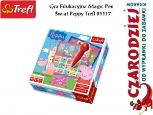 Gra Edukacyjna Magic Pen Świat Peppy Trefl 01117
