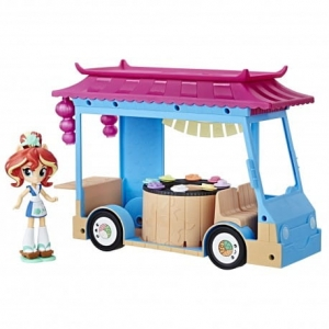 My Little Pony Equestria C1840 Mini Sushi Truck Sunset Shimmer Hasbro