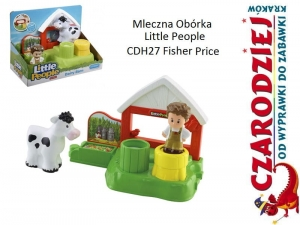 Mleczna Obórka Little People CDH27 Fisher Price