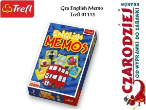 Gra English Memo Trefl 01113