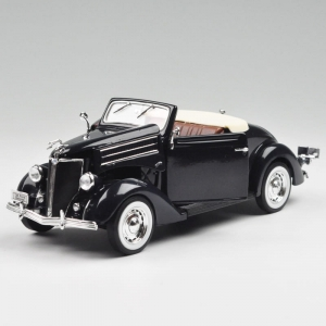 Model auta w skali 1:24 Dromader Welly  1936 Ford Deluxe Cabriolet