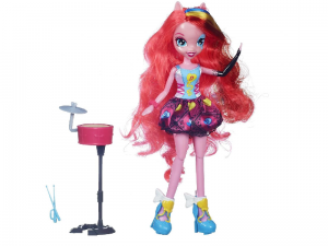 Lalka Equestria Girl My Little Pony Pinkie Pie Piosenkarka Rainbow Rocks A6781 A6683 Hasbro
