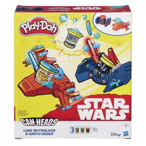 Ciastolina Pojazdy Star Wars Luke Skylwalker VS. Darth Vader Play-Doh Hasbro B2525