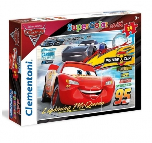 Puzzle 24 el. Maxi Cars Super Color Clementoni 24489 3+