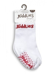 Skarpetki Juddlies White/Red 0-12 m 6000828
