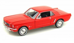 Model auta w skali 1:24 Dromader Welly  1964-1/2 Ford Mustang Coupe