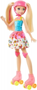 Lalka barbie Video game hero Lalka na wrotkach Mattel DTW17