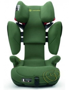 Fotelik samochodowy Concord Transformer X-BAG 15-36 kg ISOFIX kolor 09 Jungle Green