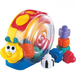 Ślimak Smakosz Klocków Brilliant Basics 71922 Fisher Price 6m+
