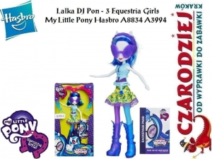 Lalka DJ Pon - 3 Equestria Girls My Little Pony Hasbro A8834 A3994