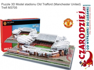 Puzzle 3D Model stadionu Old Trafford Manchester United Trefl M3705