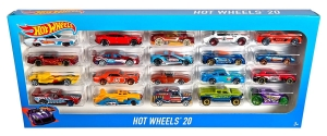 Autka Hot Wheels dwudziestopak Mattel H7045 MIX