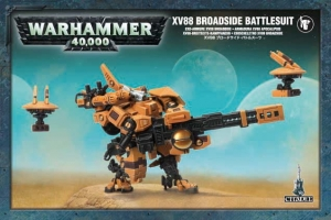 Figurki Warhammer 40000 XV88 Broadside Battlesuit 56-15 orange