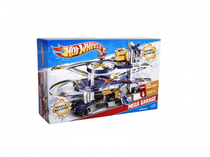 Hot Wheels Mega Garaż Parking 2 poziomy + autko V3260